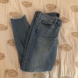 Hollister Distressed Crop Jeans